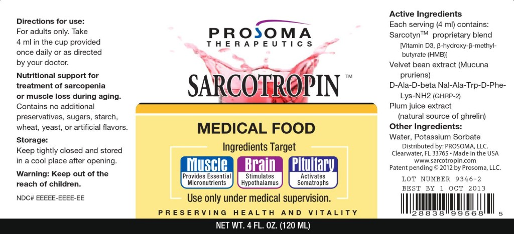 sarcotropin label